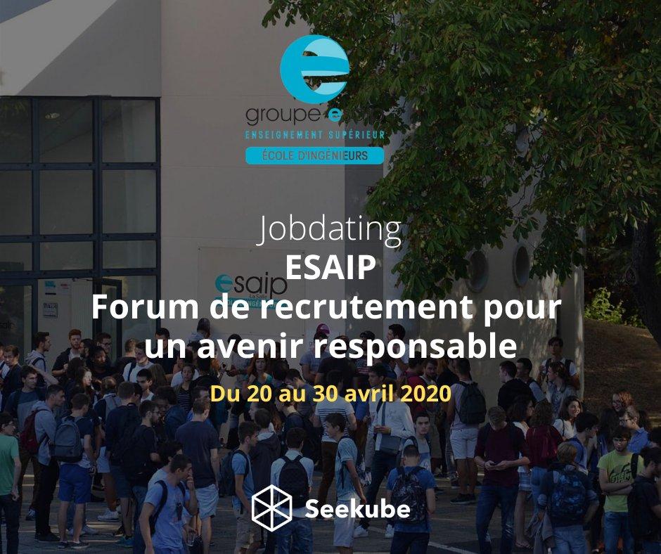 Forum jobdating de l'ESAIP