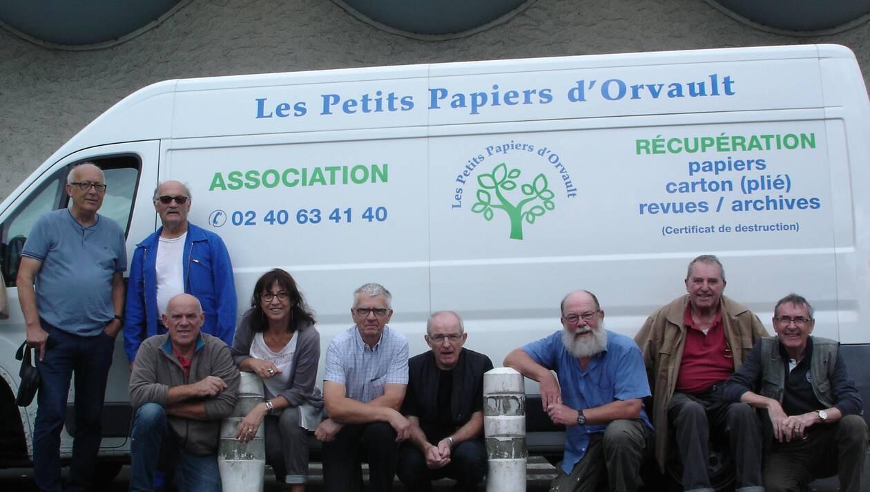 L'association Les Petits Papiers d'Orvault collecte nos papiers