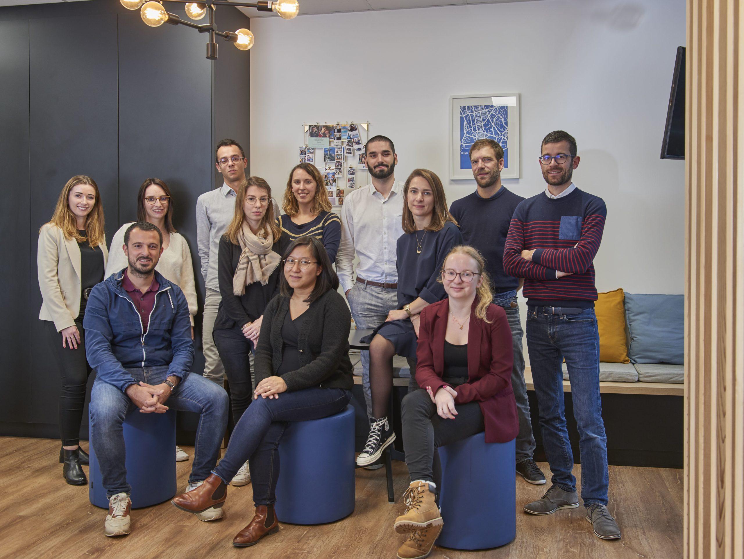 L'équipe de consultant Seyos